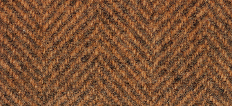 Weeks Dye Works - Feutrine Herringbone Sweet Potato (2238 HB)