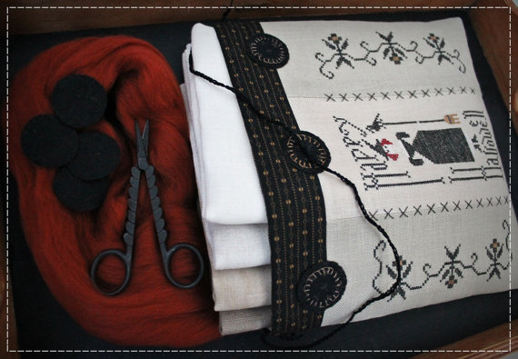 SubRosa Design - Happy Halloween sewing bag