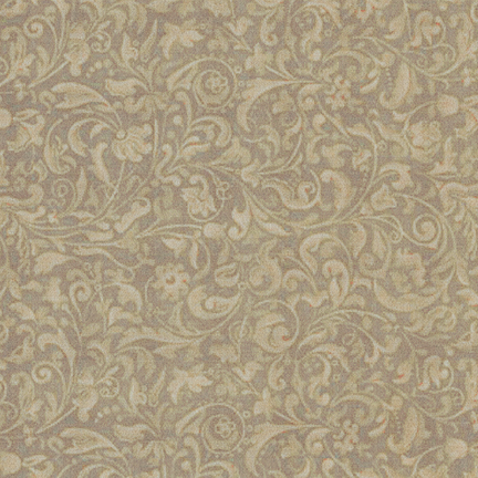 Quilting Treasures - Curiosity Arabesques Beige 2490