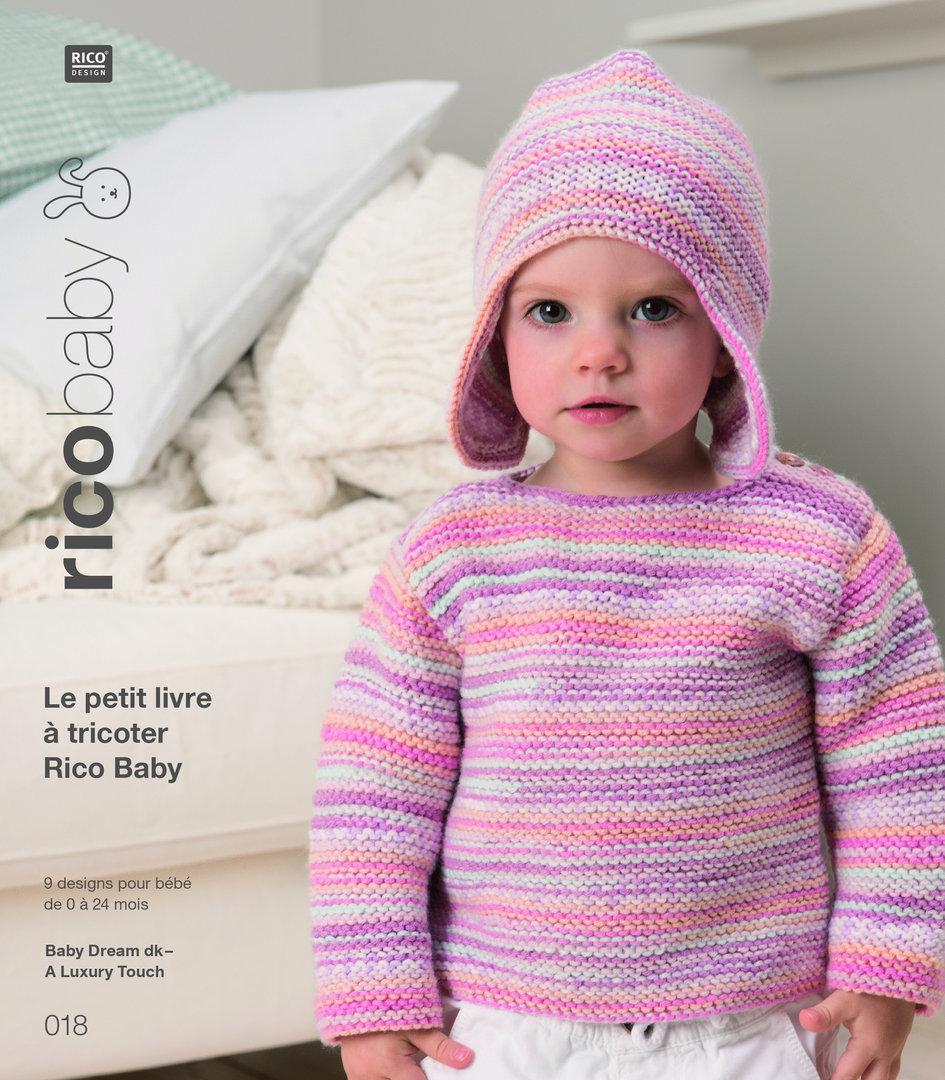 38d7c62f78b1 Rico Design - Le Petit Livre à tricoter Rico Baby n°18