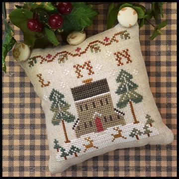 LITTLE HOUSE NEEDLEWORKS - ABC samplers : LMN