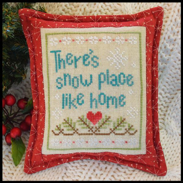 COUNTRY COTTAGE NEEDLEWORKS - Snow Place Like Home 3
