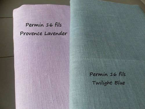 Lin Permin of Copenhagen 16 Fils (40 Count) - Coloris Twilight Blue 6718