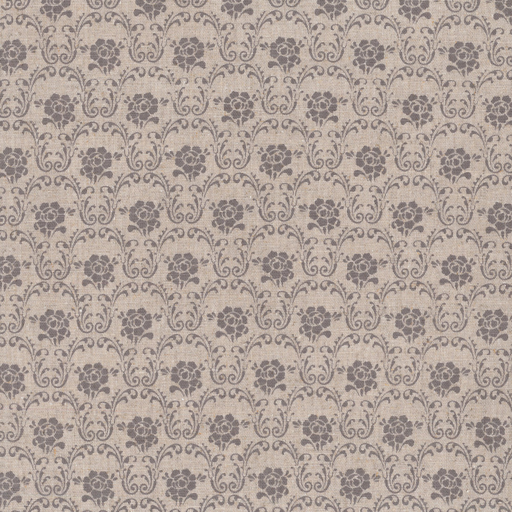 Stof - Shabby Chic Gris Médaillons