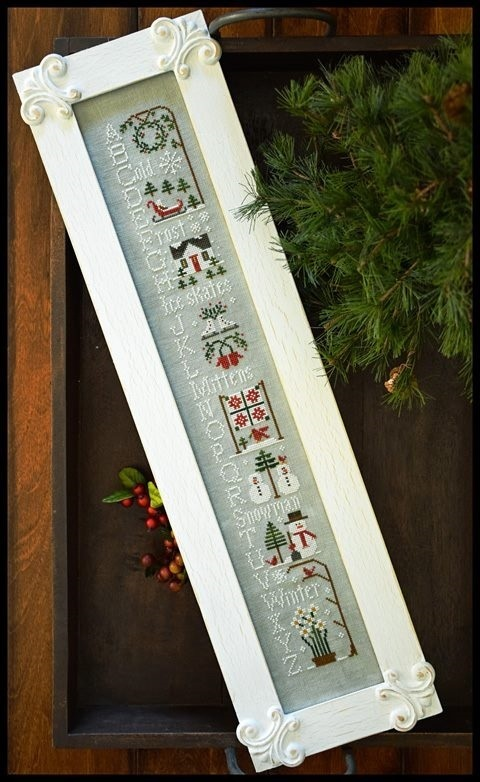 Little house Needleworks - Winter ABC's