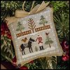 "Little house Needleworks - Farmhouse Christmas ""Horsin Around"""