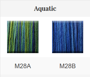 HOE - Mouliné 2x5 m coloris Aquatic