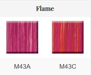 HOE - Mouliné 2x5 m coloris Flame