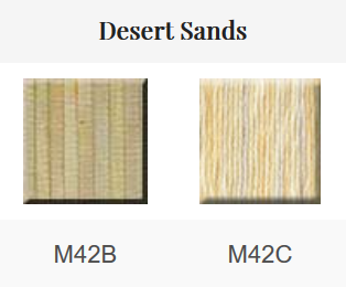 HOE - Mouliné 2x5 m coloris Desert Sands