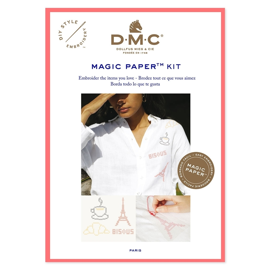 DMC - Magic Paper Kit , Paris 2