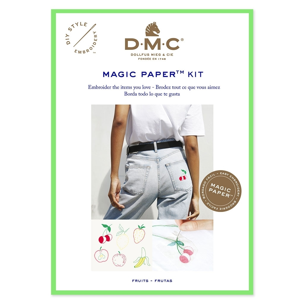 DMC - Magic Paper Kit , Fruits