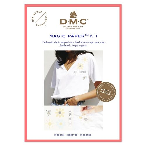 DMC - Magic Paper Kit , Insectes 2