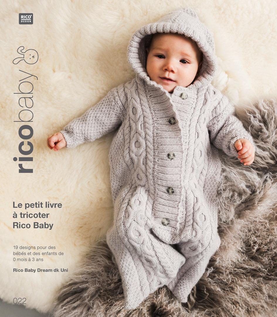 dd768089c005 Rico Design - Le petit livre à tricoter Rico Baby n°22