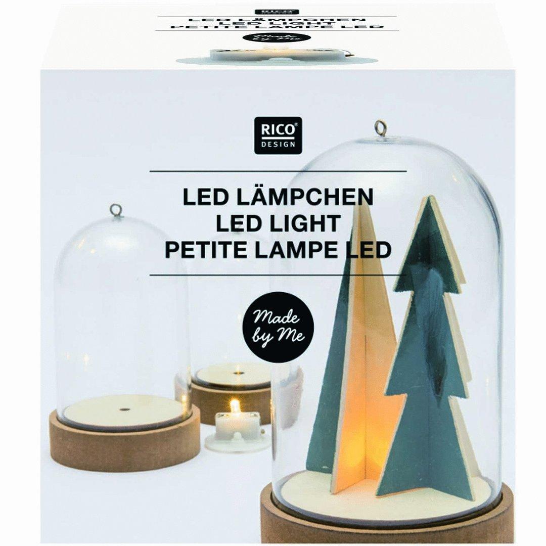 rico design petite lampe led le comptoir des fees. Black Bedroom Furniture Sets. Home Design Ideas