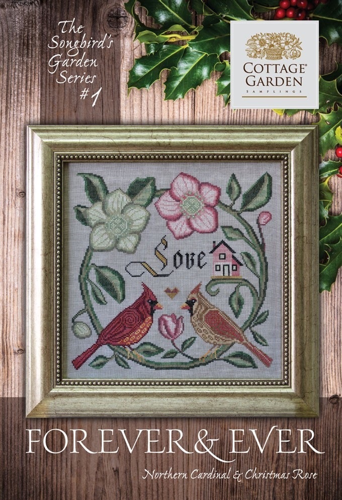 Cottage garden Samplings - Forever & Ever , The songbird's garden Series 1/12