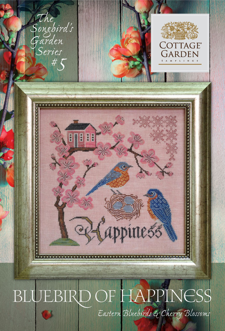 Cottage garden Samplings - Forever & Ever , The songbird's garden Series 5/12