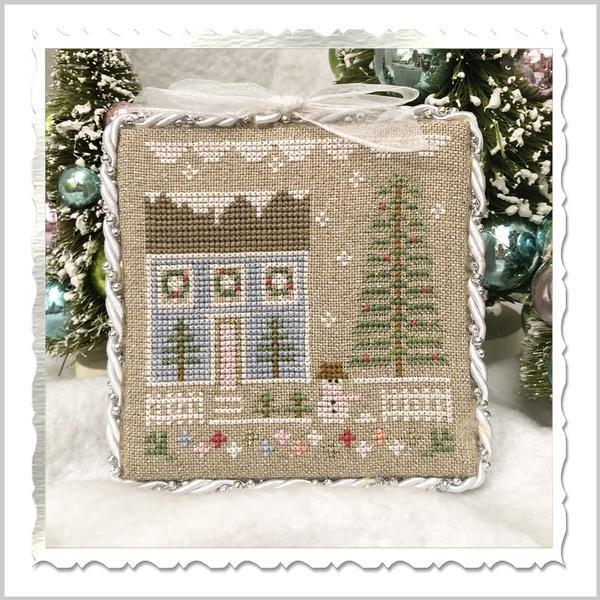 Country Cottage Needleworks - Glitter Village, Glitter House 1