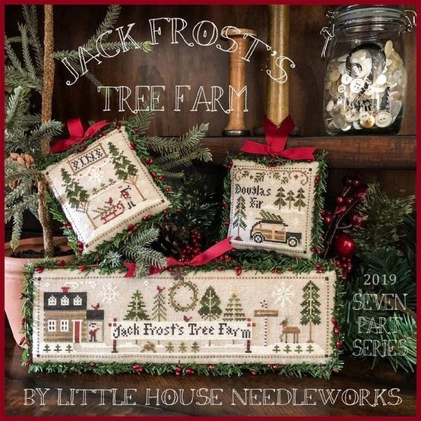 Little House Needleworks - Jack frost's tree farm 1/7