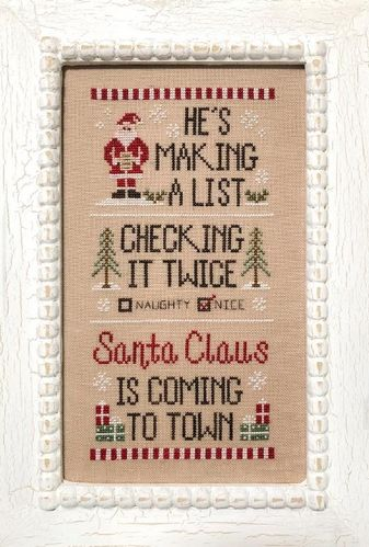 Country Cottage Needleworks - Santa's List