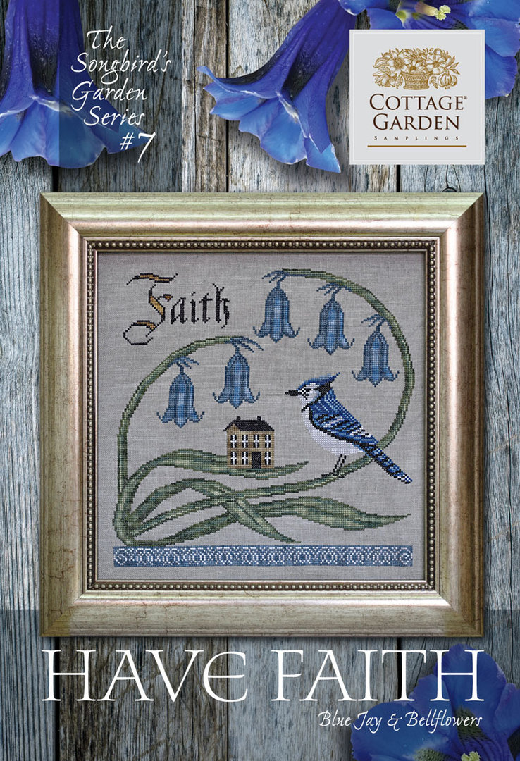 Cottage garden Samplings - Forever & Ever , The songbird's garden Series 7/12