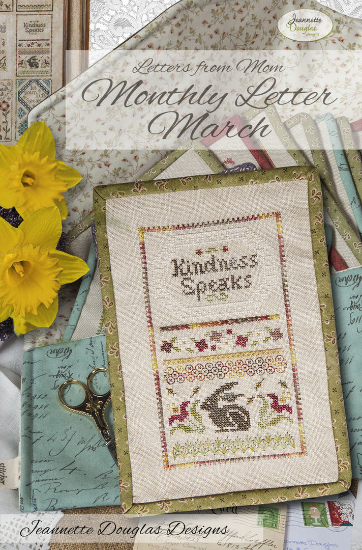 Jeannette Douglas - Letters from Mom, March
