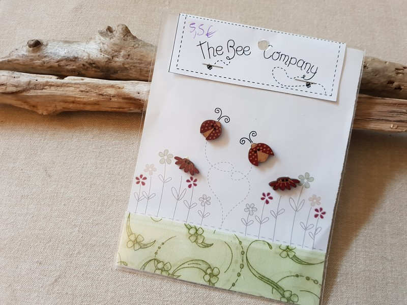 The bee Company - Boutons Coccinelles TB27