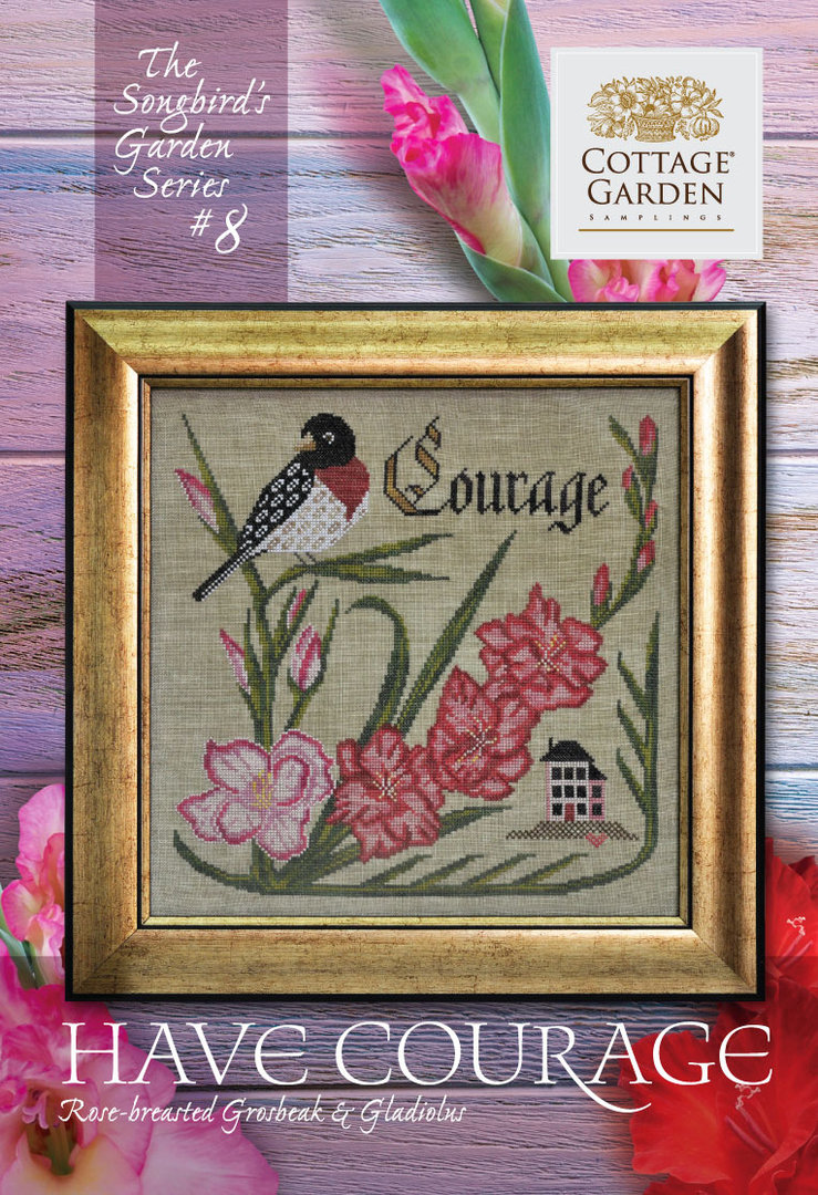 Cottage garden Samplings - Forever & Ever , The songbird's garden Series 8/12