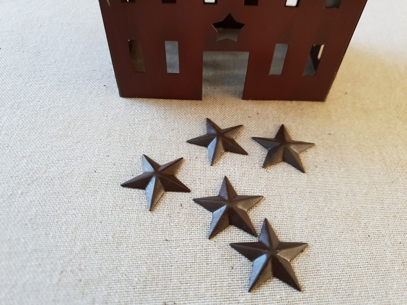 FDC - Primitive Rusty Tin Star 3D 3,8 cm