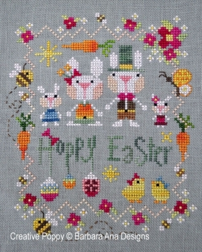 Barbara Ana Designs - Hoppy easter