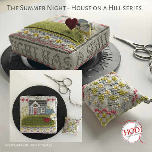 Hands on Design - Summer Night , House On A Hill