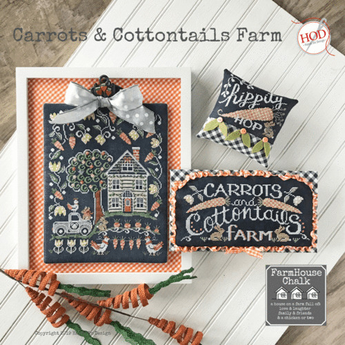 Hands on Design - Carrots & Cottontails farm
