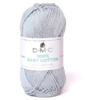 DMC - 100 % baby cotton coloris 757 Gris perle