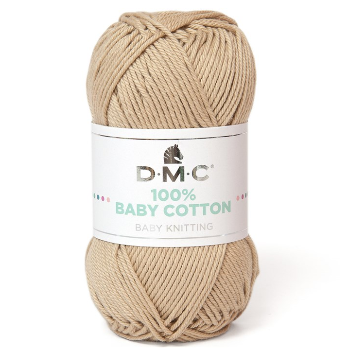 DMC - 100 % baby cotton coloris 773 Beige