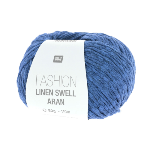 Rico Design - Fashion Linen swell coloris Azur 005