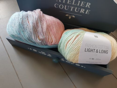 Rico Design - Fashion Cotton Light & Long coloris 003 Multicolore