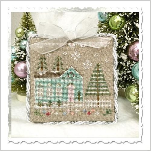 Country Cottage Needleworks - Glitter Village, Glitter House 7
