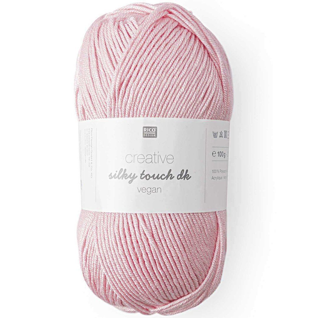 Rico Design - Creative silky touch dk (vegan) coloris Rose Pastel 010