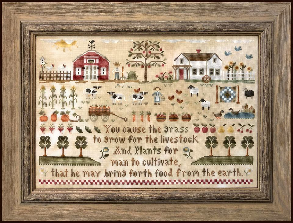 Little house Needleworks - Farm Life