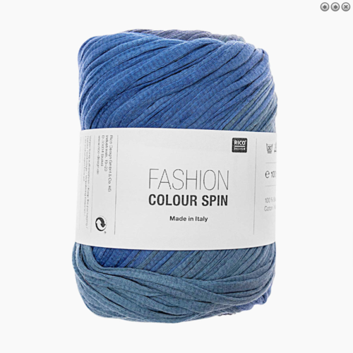 Rico Design - Fashion colour spin couleur bleu 005
