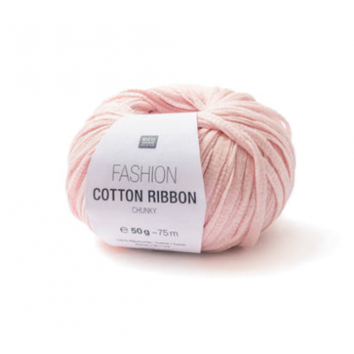 Rico Design - Fashion Cotton Ribbon coloris Rose 003