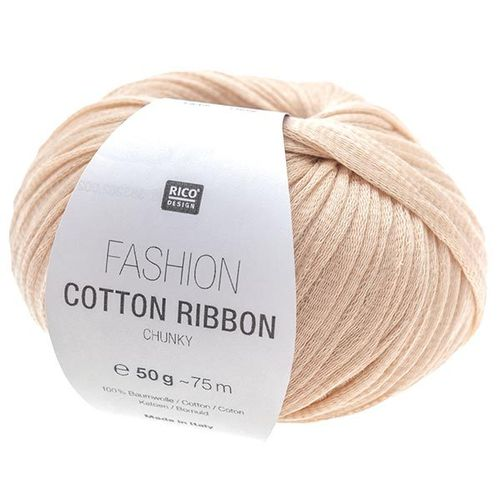 Rico Design - Fashion Cotton Ribbon coloris Poudre 004
