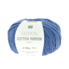 Rico Design - Fashion Cotton Ribbon coloris Bleu 006