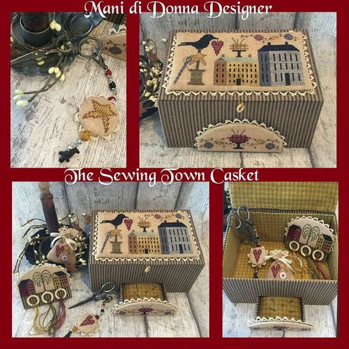 Mani di Donna - The Sewing town casket