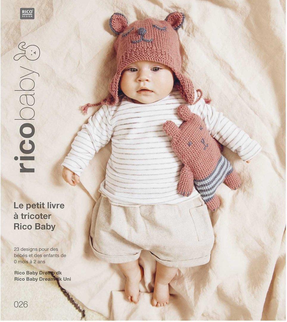 """Veste bébé DK à rayures col Câble Coeur texturé 16 /"""" 26/"""" modèle de tricot"""