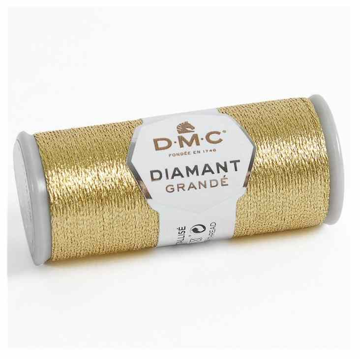 DMC - Fil diamant Grandé Or clair G3821