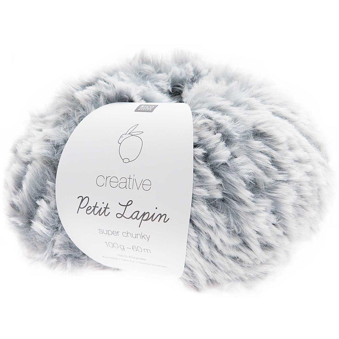 Rico Design -  Creative Petit Lapin super chunky coloris Bleu 005