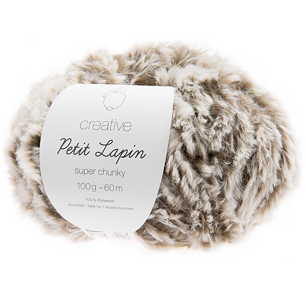 Rico Design -  Creative Petit Lapin super chunky coloris Gris 006