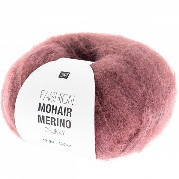 Rico design - Fashion Mohair Merino chunky coloris Baie 005