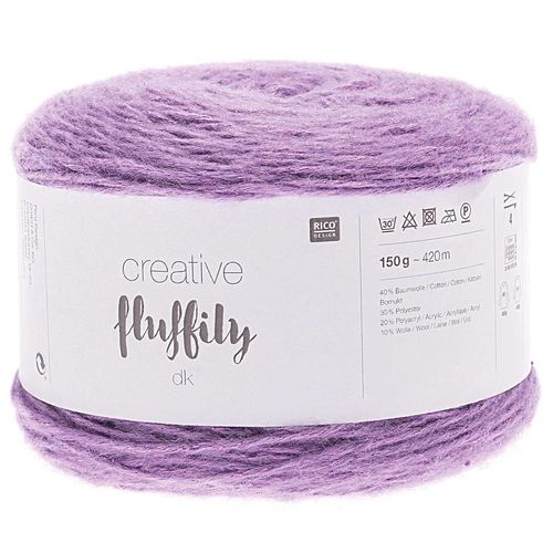 Rico Design - Creative Fluffily coloris Lilas  005