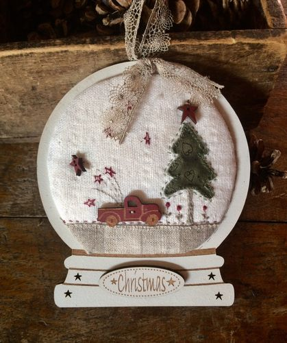 The Bee Company - Kit Patchwork boule à neige Camion vintage BON2B